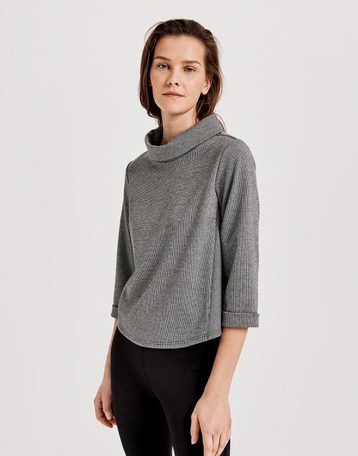 Sweater Guleda pepita black
