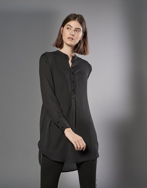 Lange blouse Fubin black