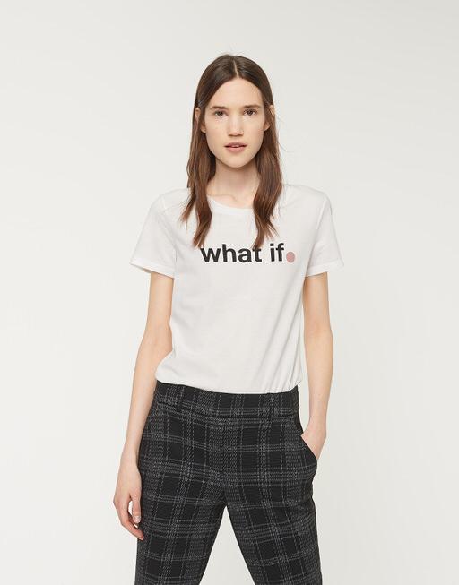 Shirt with print Santi Print SP black