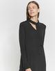 Lange blouse Fulrike black