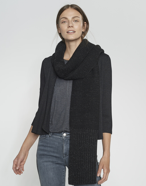 Schal Anine scarf black