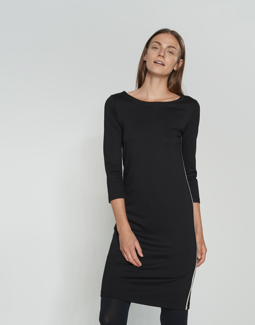 Jersey dress Wonka sporty black