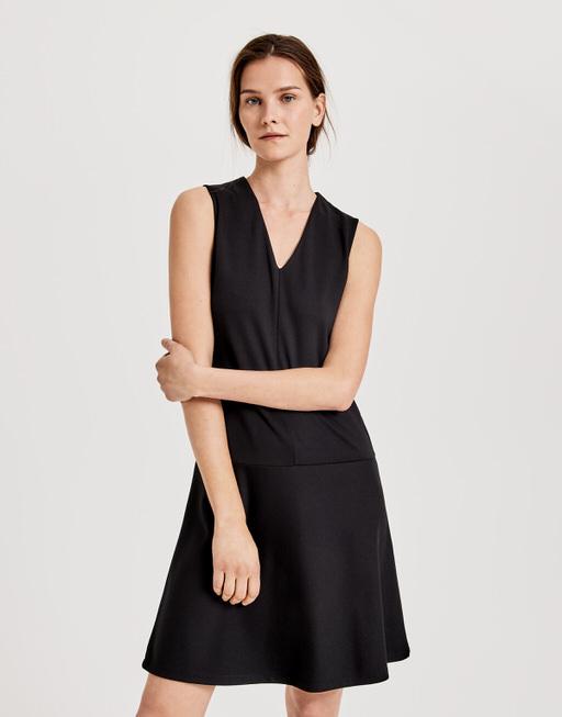 Jerseykleid Walana black