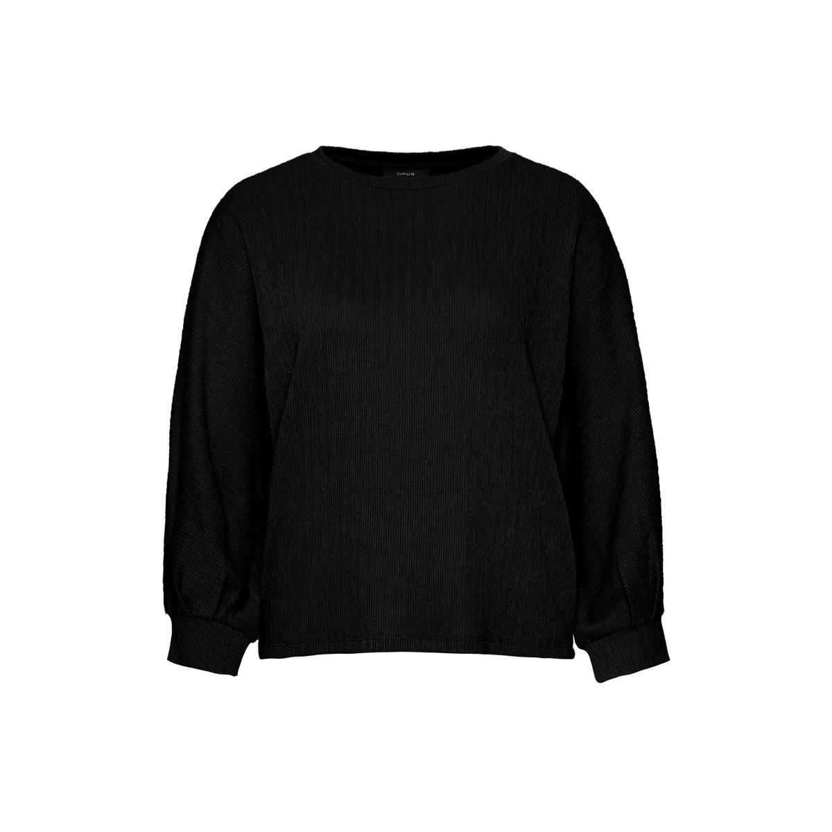 Artikel klicken und genauer betrachten! - Das Sweatshirt aus einem soften Viskose-Mix spielt mit Volumen und Struktur. Der weite Body läuft in voluminöse Ärmel über. Durch Raffungen am Bündchen wird der Ballon-Charakter der Ärmel zusätzlich verstärkt. Eine feine Faltenstruktur wirkt wie ein Plissee und verleiht dem Shirt einen besonderen Griff. | im Online Shop kaufen